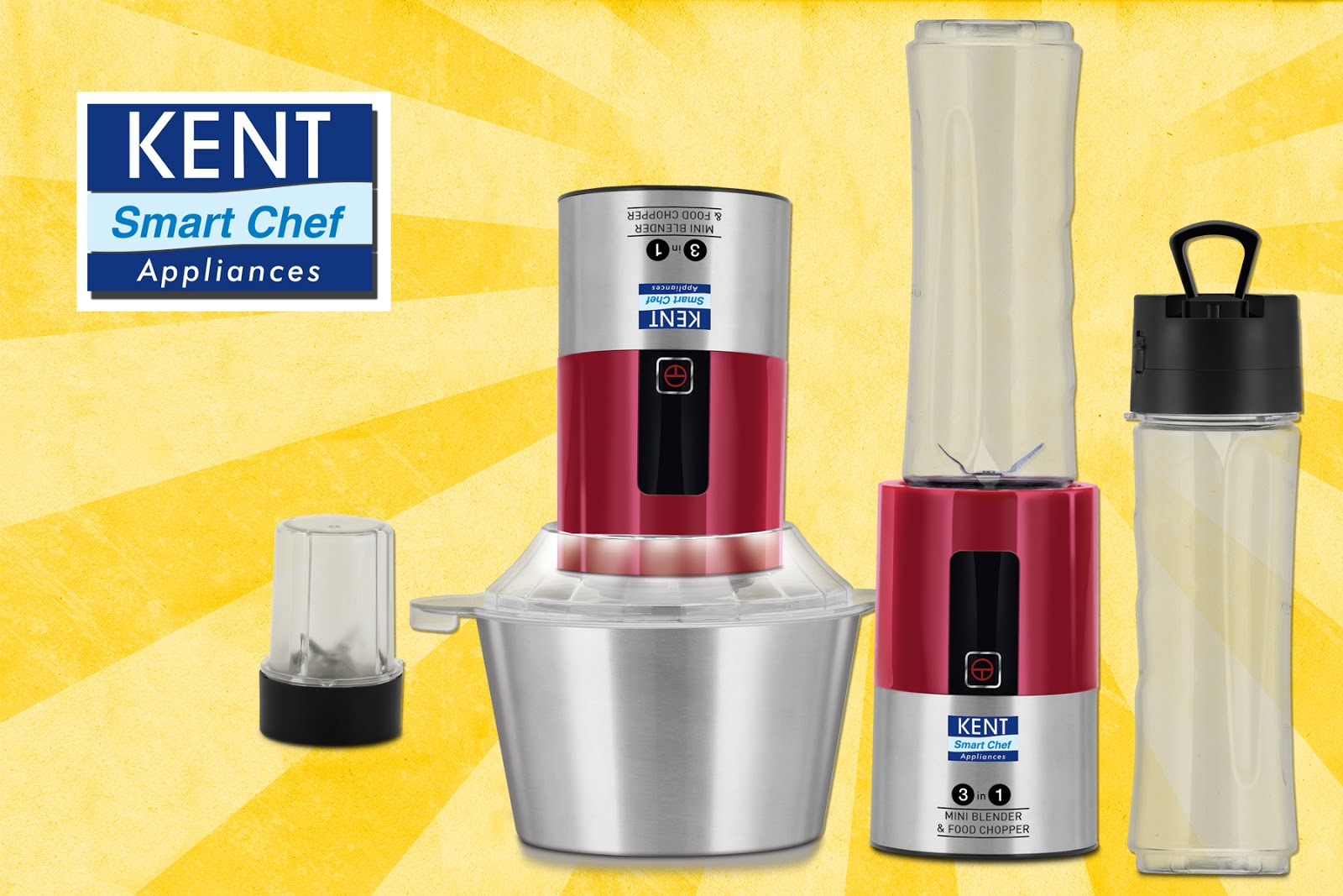 Kent Launches 3 In 1 Mini Blender And Food Chopper Techphlie