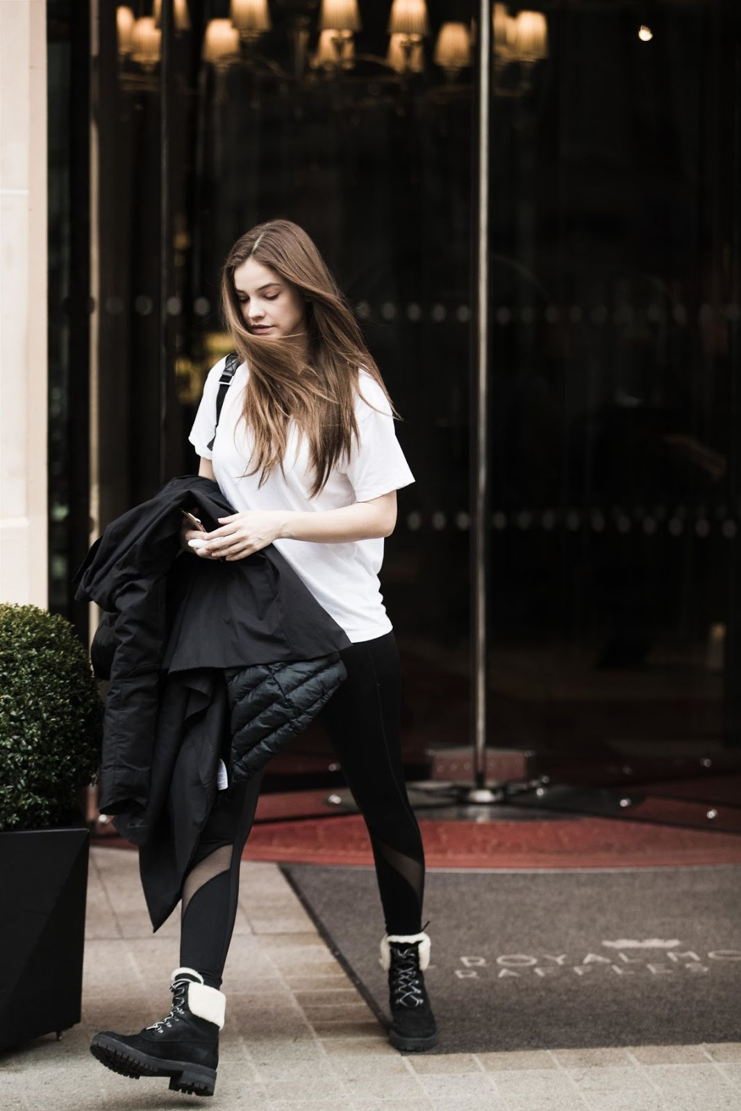 Barbara Palvin Leaves Royal Monceau Hotel in Paris - 02/06/2019