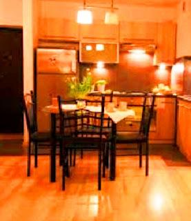 Dapur Kecil dan Praktis