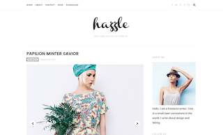 Hazzle Minimal Blogger Template