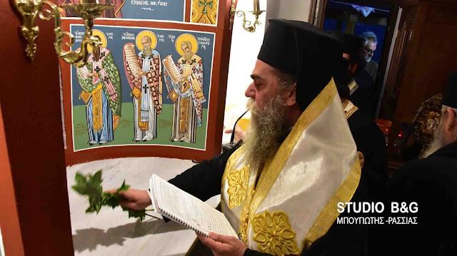 Θυρανοίξια Ιερού Ναού στην Ζόγκα Αργολίδας από τον Μητροπολίτη Άρτης Καλλίνικο