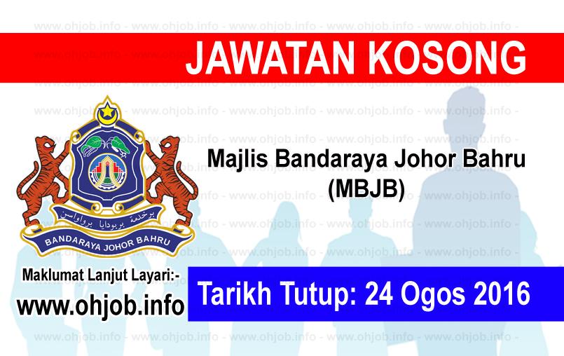Jawatan Kerja Kosong Majlis Bandaraya Johor Bahru (MBJB) logo www.ohjob.info ogos 2016