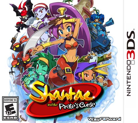 Shantae and the Pirates Curse Decrypted 3DS EUR