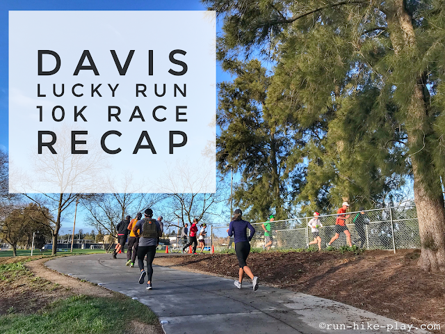 Davis Lucky Run 10K Race Recap 3/24/18
