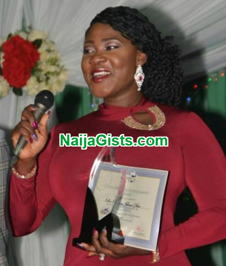 mercy johnson award kogi state governor