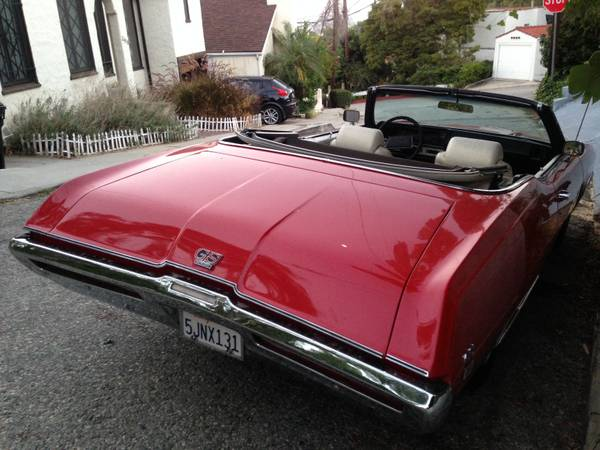 unrestored 1969 buick gs400 convertible buy american muscle car. Black Bedroom Furniture Sets. Home Design Ideas