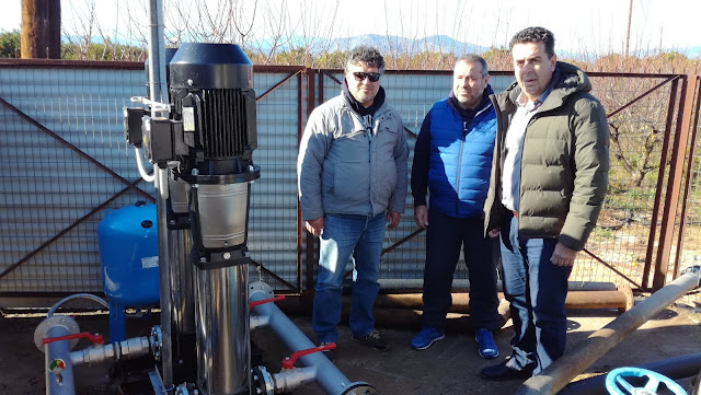 ΔΕΥΑ Ναυπλίου: Πόσιμο νερό στο Ανυφί