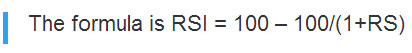 Forex-RSI-Formula
