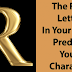 What Does The First Letter Of Your Name Reveals About You