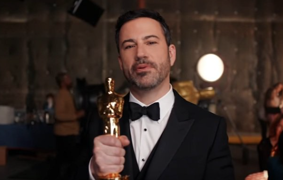 Oscars: Jimmy Kimmel Says Penis-Free Oscar Statue Is Hollywood's Ideal Man