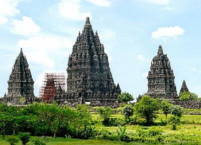 Prambanan Temple at Yogyakarta