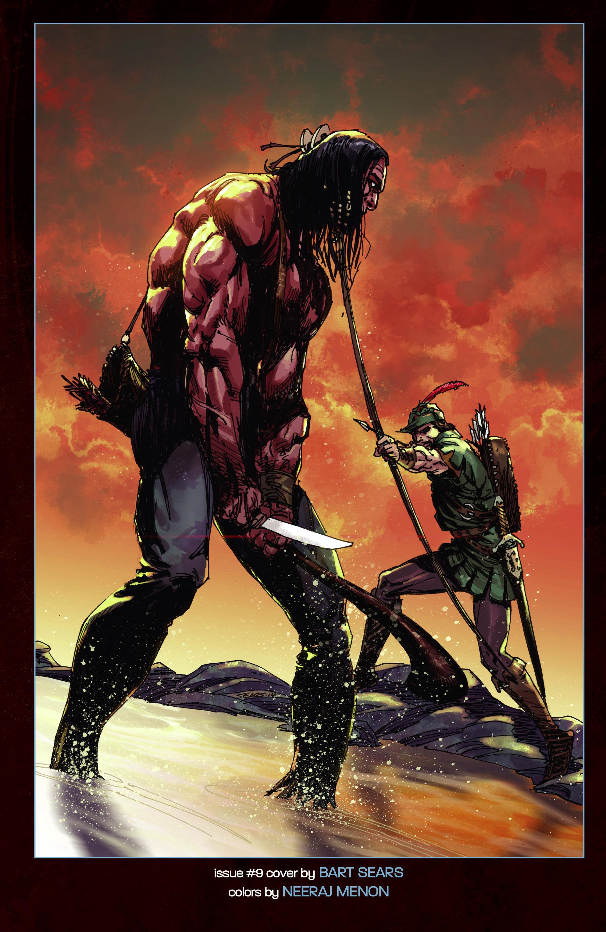 Read online Turok: Dinosaur Hunter (2014) comic -  Issue # _TPB 3 - 114