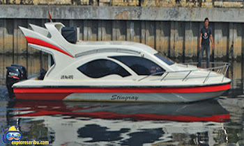 rental speedboat marina ancol tipe stingray