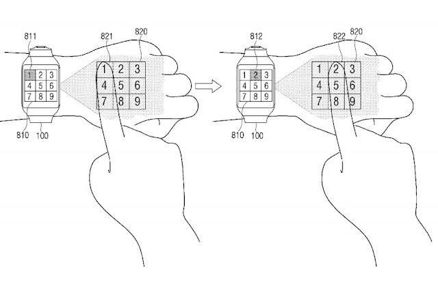 Paten Samsung menunjukan fitur dan fungsi Smartwatch masa depan