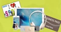 Logo Vinci gratis 242 Gift Card Decathlon o Smartbox da 30€  e 1 Gift Card Apple da 1.000€