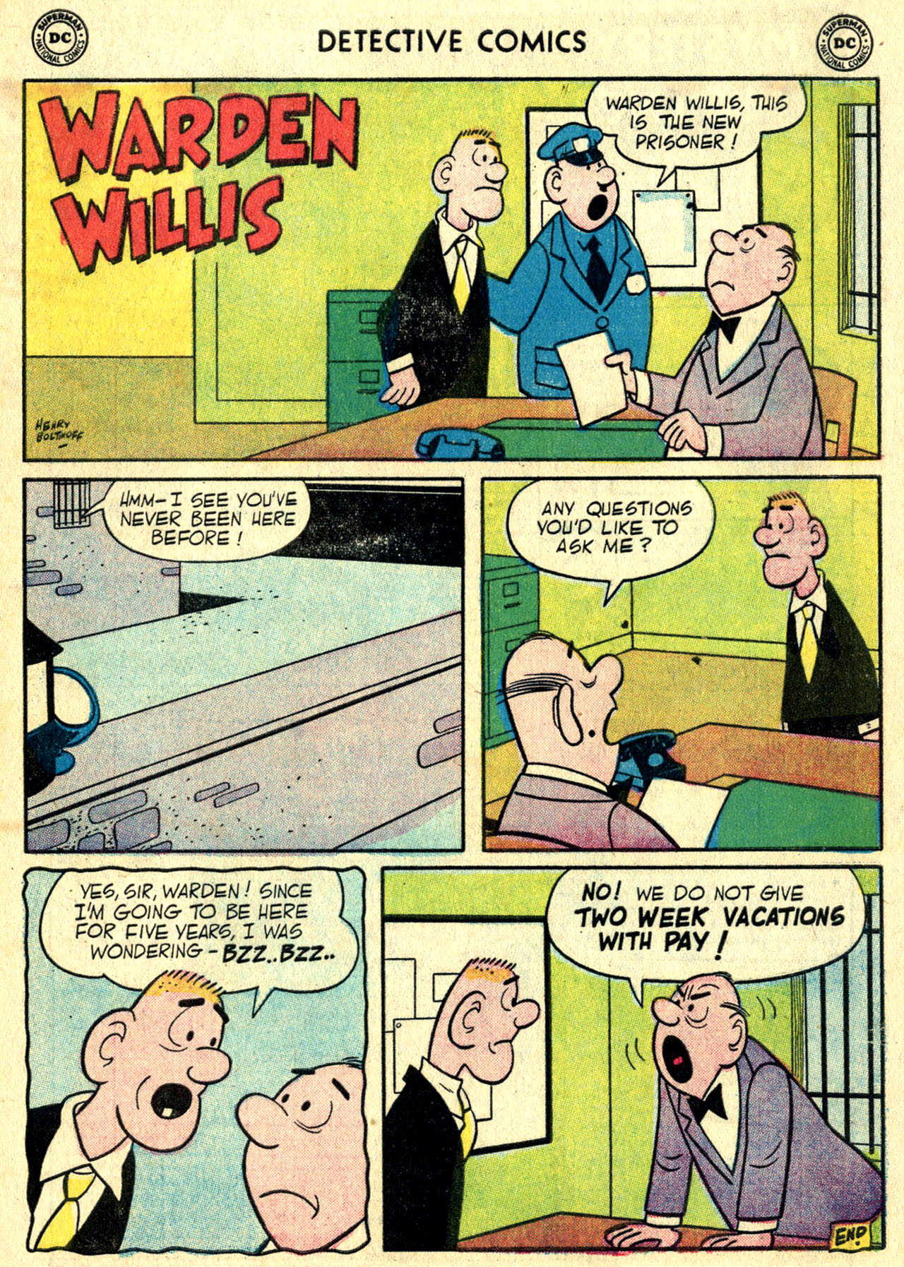 Read online Detective Comics (1937) comic -  Issue #244 - 33