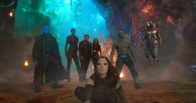 Guardians of the Galaxy Vol. 2 photos during their party