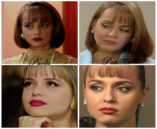 Comparativo entre Paola e Paulina