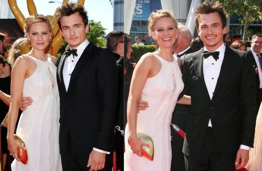 Photos  Rupert Friend at 2013 Primetime Creative Arts Emmy AwardsRupert Friend Girlfriend 2013