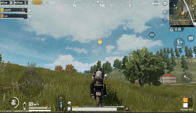 Jangan gunakan kendaran di tahap akhir