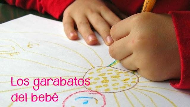 dibujos y garabatos del bebé