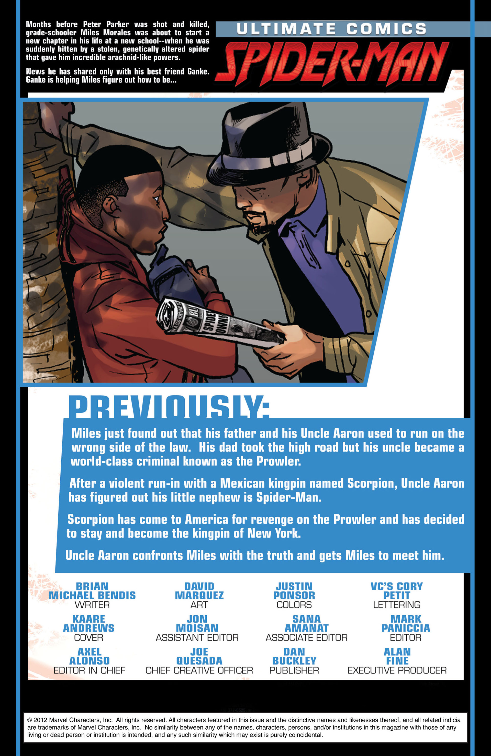 Read online Ultimate Comics Spider-Man (2011) comic -  Issue #10 - 2