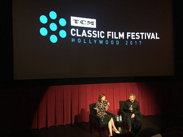 Alicia Malone and Stathis Giallelis TCM Classic Film Festival