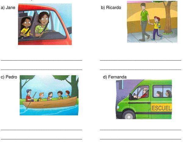 Avaliacao De Espanhol 5º Ano Com 8 Questoes No Ponto De Imprimir