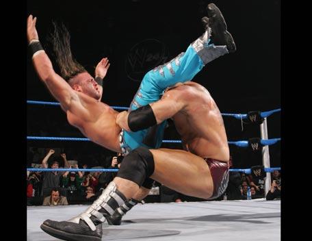WWE Batista Bomb