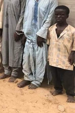 Dwarf Boko Haram Member Captured, Confesses (Photo)