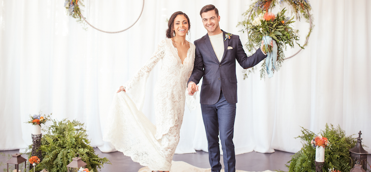 Bohemian Wedding Inspo with Macrame, Lace, and Color Galore!
