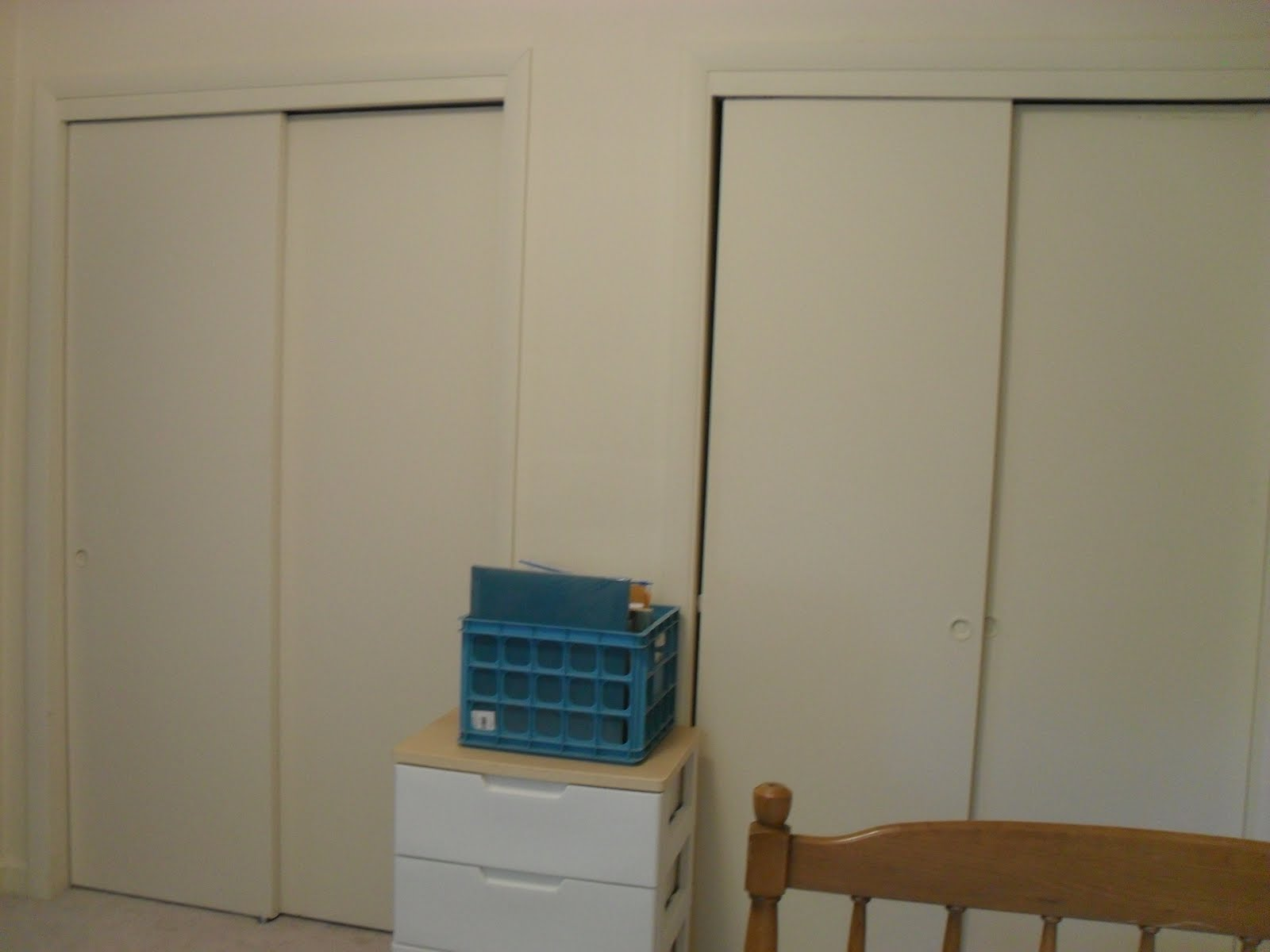 The Remodeled Life Closet Doors And Magnetic Paint
