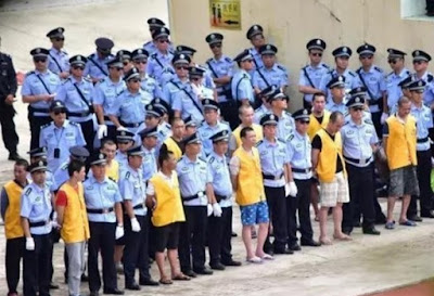 13 people sentenced to death for drug trafficking in China