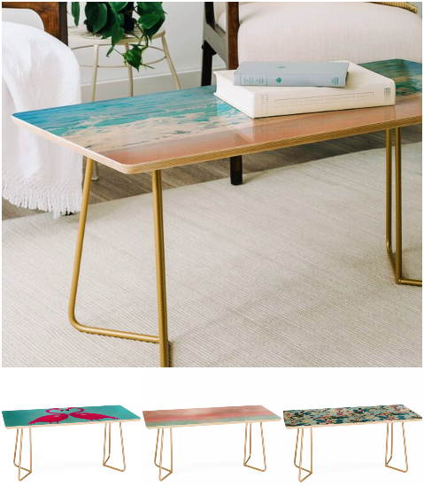 Ocean Sea Tropical Image Coffee Table