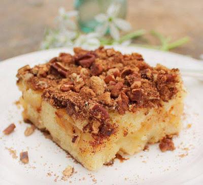 Cream Cheese Apple Cake