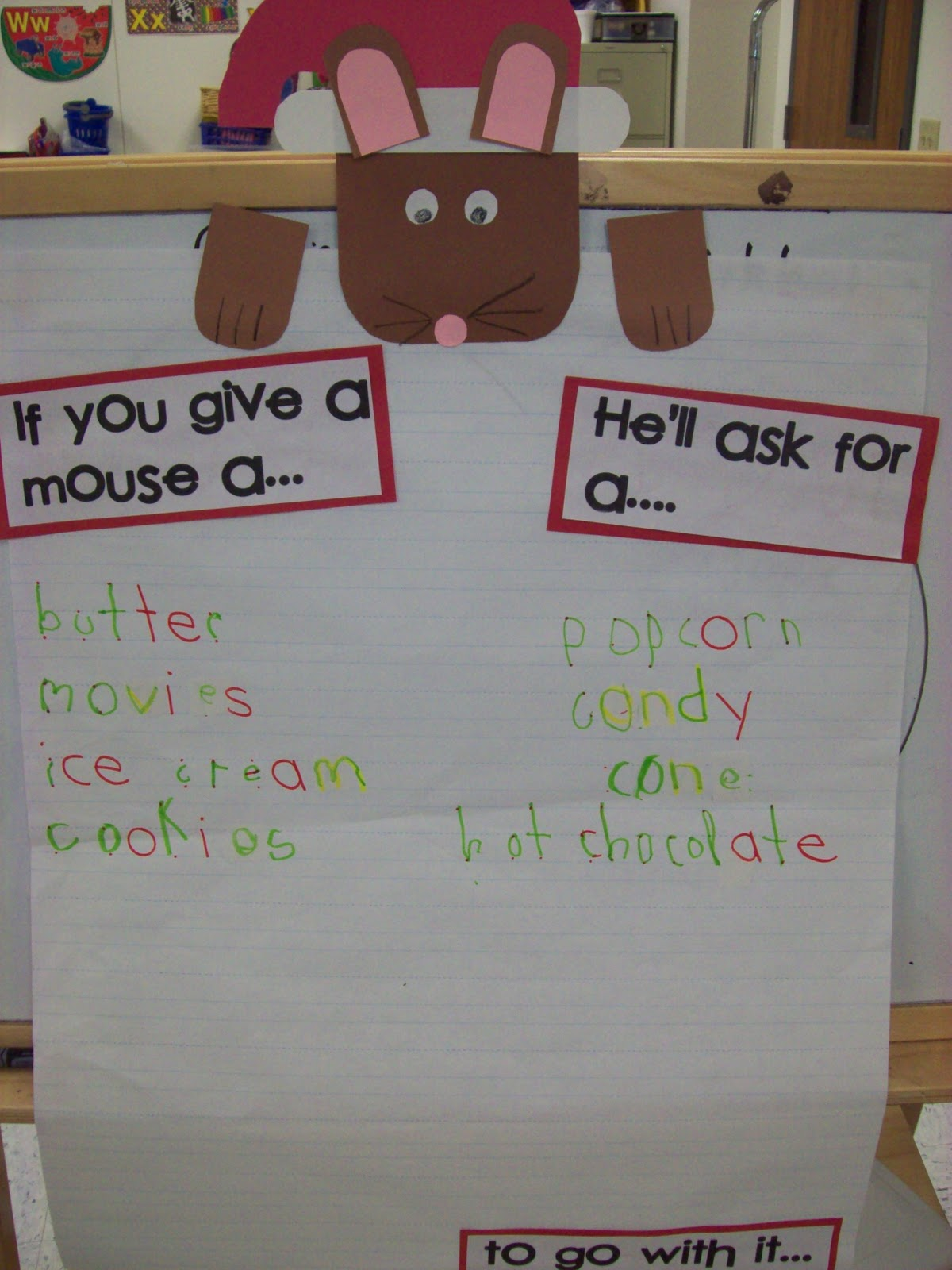 Chalk Talk A Kindergarten Blog If You Take A Mouse To The Movies