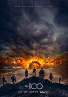The 100 - 4ª Temporada Séries Torrent Download capa