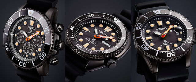 Seiko Prospex Black Series