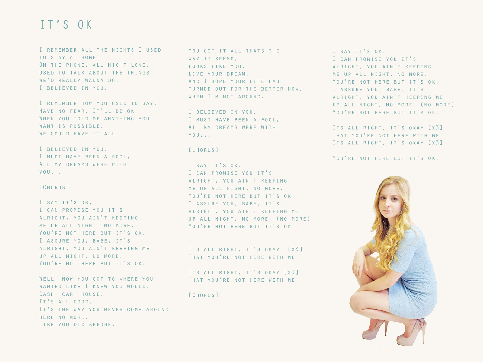 we used to have it all lyrics