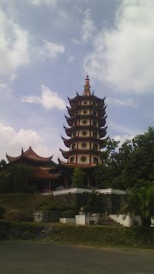Morinaga Chil Go! Vihara Boddhigaya Semarang