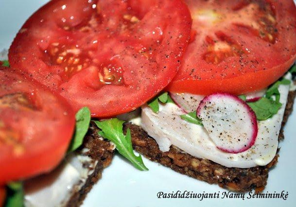 Receptas: Sveikas sumuštinis