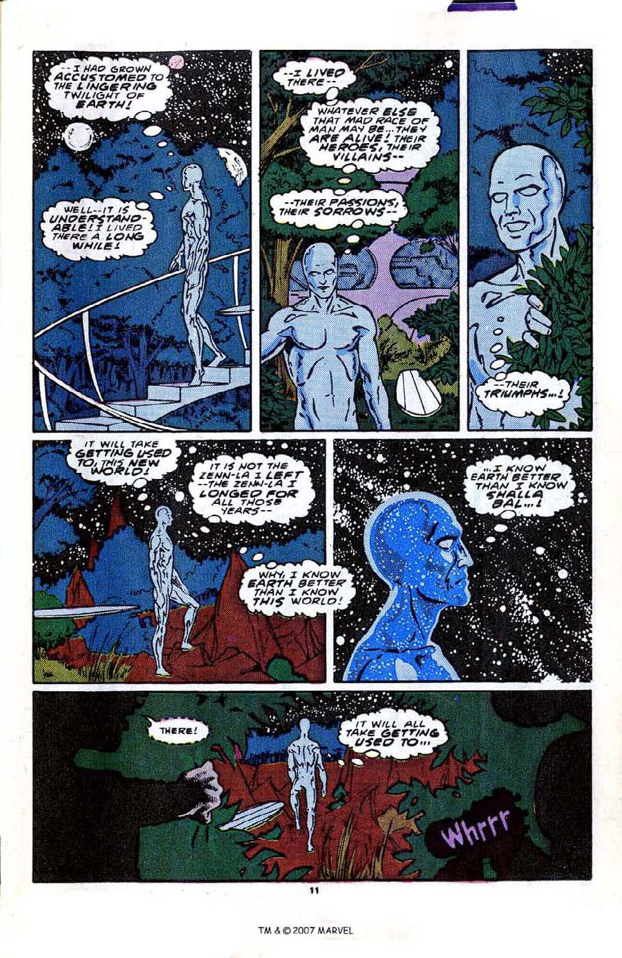 Read online Silver Surfer (1987) comic -  Issue #2 - 17