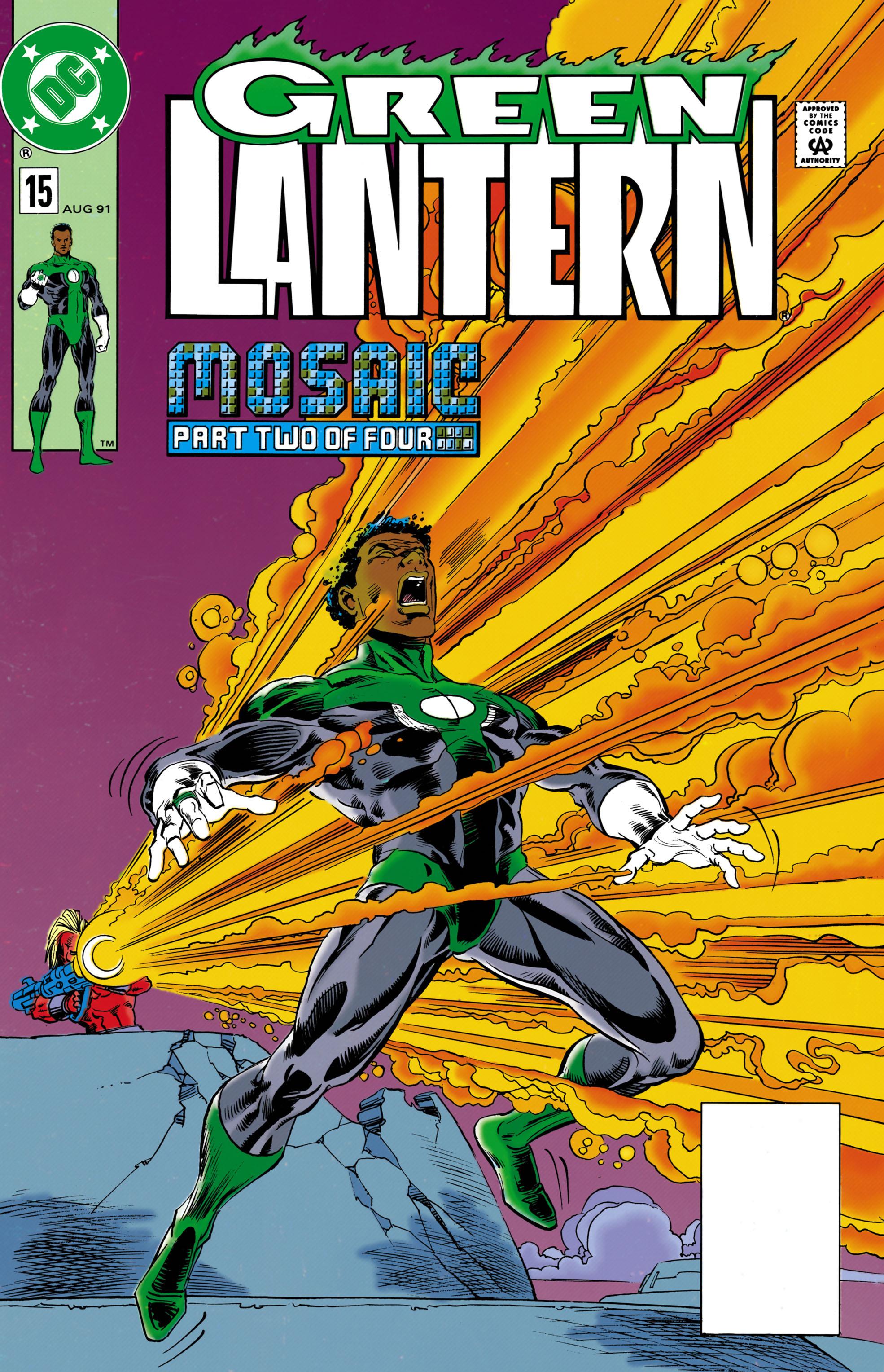 Green Lantern (1990) 15 Page 1