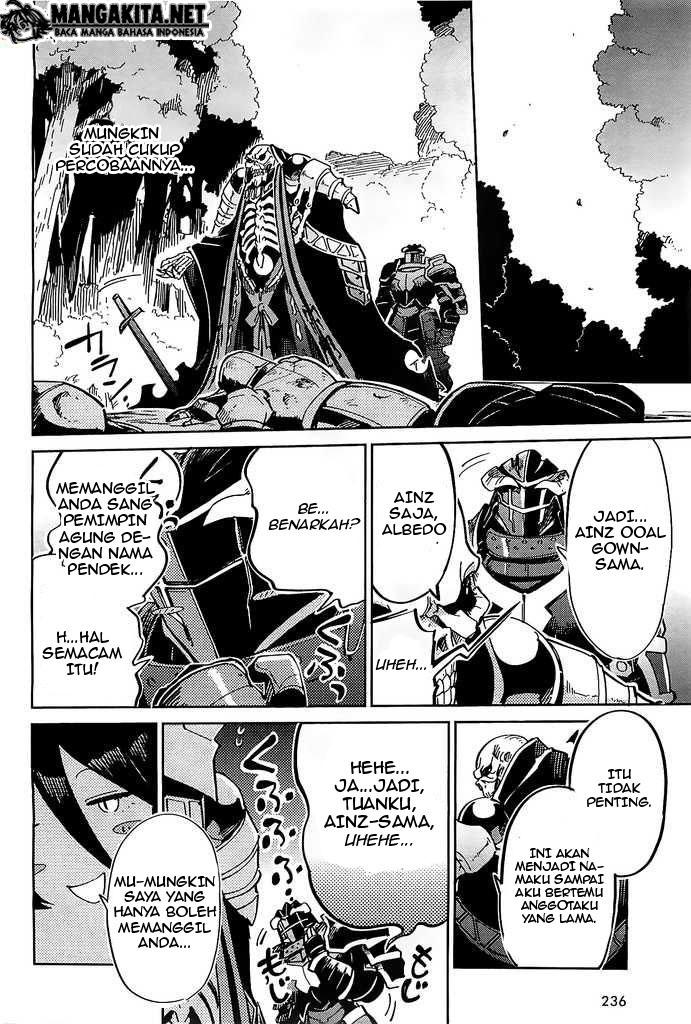 Komik Overlord Chapter 3 Bahasa Indonesia