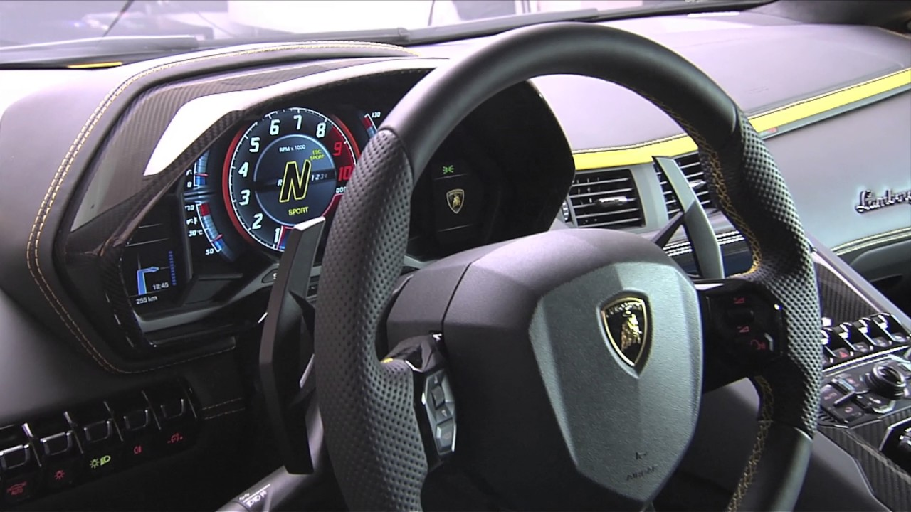 Trend car gallery for Interior lamborghini