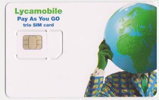 Lycamobile SIM