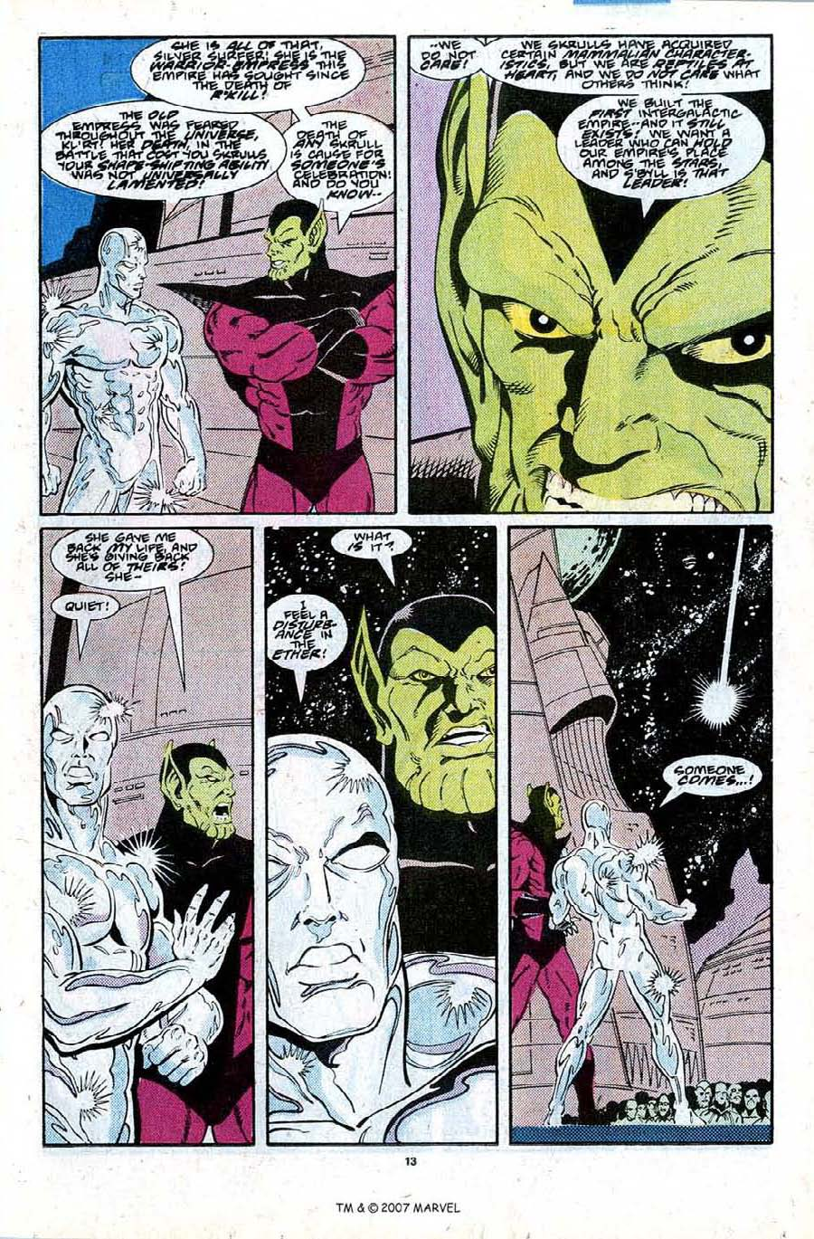 Read online Silver Surfer (1987) comic -  Issue #27 - 15