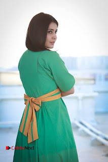 Raashi Khanna Latest Picture Shoot Gallery in Green Long Dress ~ Celebs Next