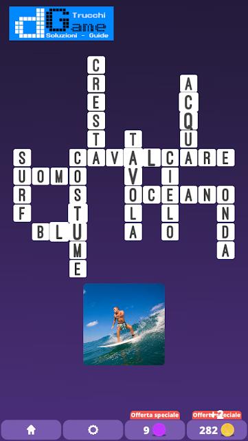 Soluzioni One Clue Crossword livello 8 schemi 3 (Cruciverba illustrato)  | Parole e foto