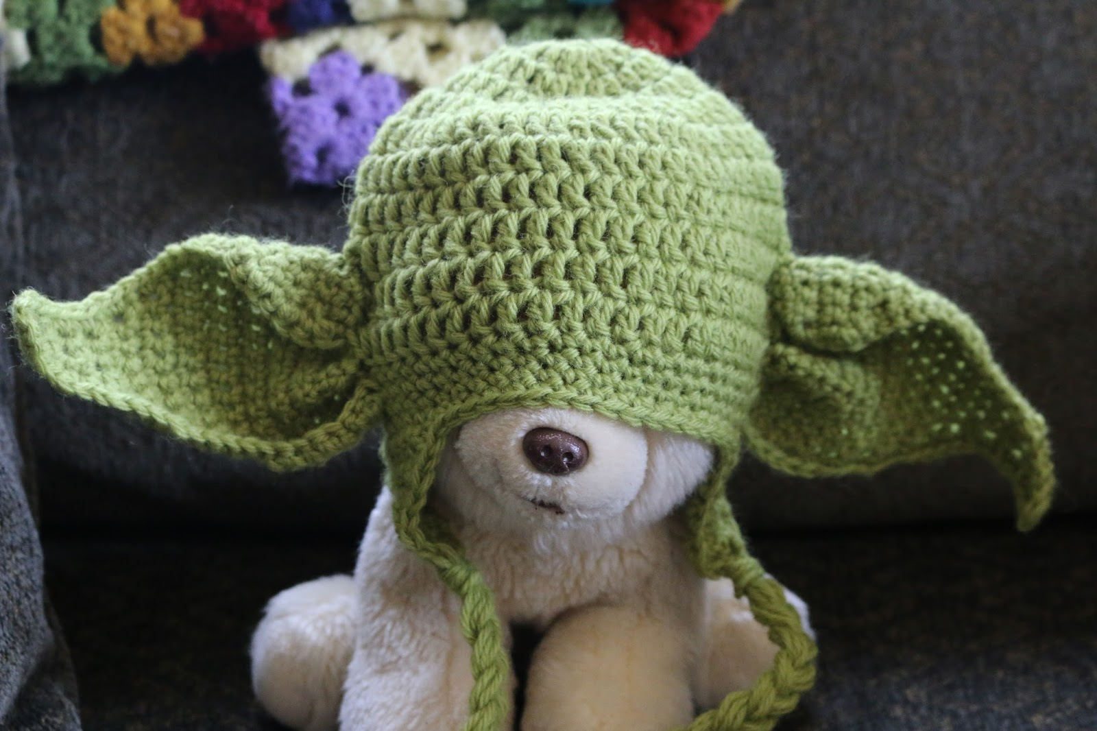 In the end I selected Tory Feyko s Yoda Hat Crochet Pattern. I am always  nervous when I purchase a pattern that has very few Ravelry projects 1d0a0d1478c